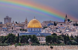 rainbow temple mount